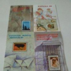 Sellos: GUIA OFICIAL EMISION SELLOS DE CORREOS 1988. Lote 96003907