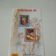 Sellos: GUIA OFICIAL EMISION SELLOS DE CORREOS 1987. Lote 96005191