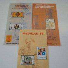 Sellos: GUIA OFICIAL EMISION SELLOS DE CORREOS 1989. Lote 96027315
