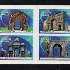 Sellos: ESPAÑA 4763/70** - AÑO 2013 - ARCOS Y PUERTAS MONUMENTALES. Lote 96127123