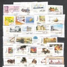 Sellos: ESPAÑA.LOTE DE 87 SELLOS ATMS DISTINTOS USADOS.MUY BUEN MATASELLADO.. Lote 96147931