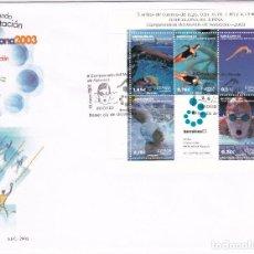 Sellos: 2003. CAMPEONATO DEL MUNDO NATACIÓN BARCELONA EDIFIL Nº 3991 SPD. Lote 96447287
