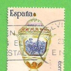Selos: EDIFIL 2893. ARTESANÍA ESPAÑOLA - CERÁMICA. (1987).. Lote 96955955