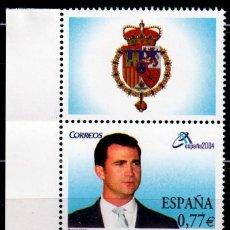 Sellos: EXPOSICION FILATELICA NACIONAL. 2004. VALENCIA. **/MNH- SELLO + VIÑETA.. Lote 97271215