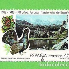 Francobolli: EDIFIL 2937. TURISMO - PARQUES NACIONALES, COVADONGA. (1988).. Lote 97319315