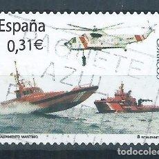 Sellos: R17/ ESPAÑA USADOS 2008, EDF. 4399, SALVAMENTO MARITIMO. Lote 97591827
