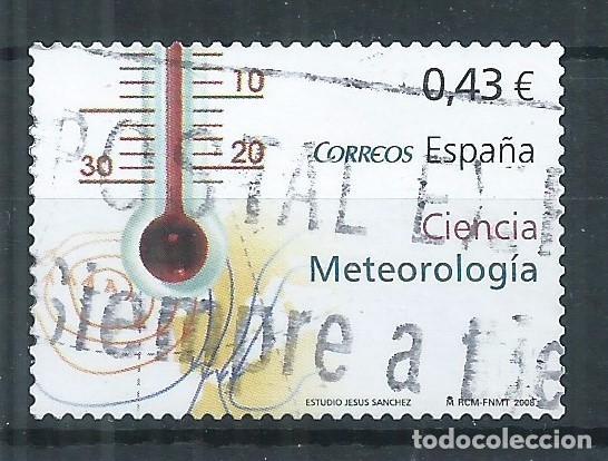 R17/ ESPAÑA USADOS 2008, EDF. 4385, CIENCIA (Sellos - España - Juan Carlos I - Desde 2.000 - Usados)