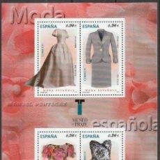 Sellos: 2010.SERIE MODA ESPAÑA. H/B.**MNH. Lote 97979747