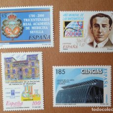 Sellos: SERIE COMPLETA AÑO 2000 CIENCIA. Lote 98088303