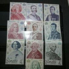 Sellos: SELLOS DE ESPAÑA NUEVOS. 1978. REYES DE ESPAÑA. CASA DE BORBON. 10V. EDIFIL 2496/2505.. Lote 98091875