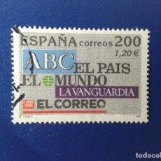 Sellos: SELLO DE ESPAÑA 2000 ABC - EDIFIL 3764 - USADO. Lote 98400283