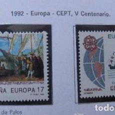 Sellos: ESPAÑA 1992 EUROPA. EDIFIL 3196/7 SELLOS NUEVOS. Lote 98659203