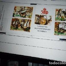 Sellos: ESPAÑA EDIFIL CARNET 3079*** - AÑO 1990 - V CENTENARIO DEL DESCUBRIMIENTO DE AMÉRICA - BARCOS. Lote 98659615