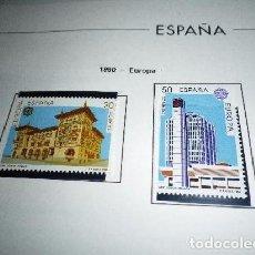 Sellos: ESPAÑA 3058/59*** - AÑO 1990 - EUROPA - EDIFICIOS POSTALES. Lote 98659699
