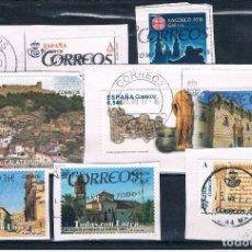 Sellos: 3 FOTOGRAFIAS DE SELLOS DE ESPAÑA NUEVOS EN EUROS FRAGMENTOS. Lote 98718527