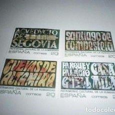 Sellos: ESPAÑA - 1989 - PATRIMONIO CULTURAL DE LA HUMANIDAD - SELLOS NUEVOS. Lote 98719487