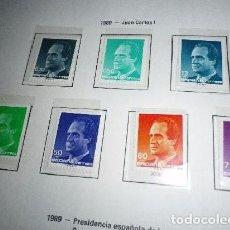 Sellos: ESPAÑA EDIFIL 3001/07*** - AÑO 1989 - REY JUAN CARLOS I. Lote 98722431