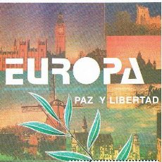 Sellos: FOLLETO ESPAÑA 1995 14/95. Lote 98726547