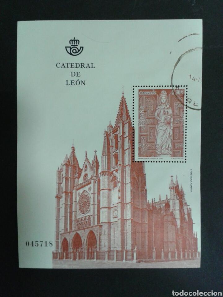 ESPAÑA. EDIFIL 4781. CATEDRAL DE LEÓN. 2012. (Sellos - España - Juan Carlos I - Desde 2.000 - Usados)