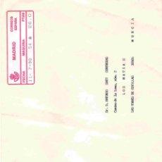 Sellos: CARTA DE MADRID A LAS TORRES DE COTILLAS,MURCIA. FRANQUEO MECÁNICO DD. 11-7-90. Lote 98836687