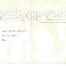 Sellos: COX, CARTA DE ALICANTE . RODILLO DD. 23-1-80. Lote 98839271