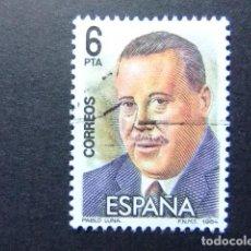 Sellos: ESPAÑA ESPAGNE 1984 MAESTROS DE LA ZARZUELA PABLO LUNA EDIFIL 2763 FU YVERT 2378 FU. Lote 99237211
