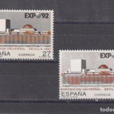 Sellos: ,,,ESPAÑA 3155(2) SIN CHARNELA, VARIEDAD SELLOS CON TONOS DE COLORES DIFERENTES, EXPO 92. Lote 101091638