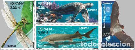AÑO 2015 (4982-4985) FAUNA (NUEVO) (Sellos - España - Juan Carlos I - Desde 2.000 - Nuevos)