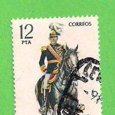 Sellos: EDIFIL 2455. UNIFORMES MILITARES - CAPITÁN GENERAL. (1978). Lote 100443603