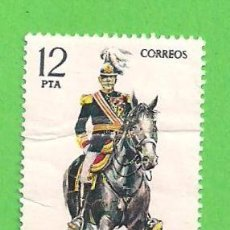 Sellos: EDIFIL 2455. UNIFORMES MILITARES - CAPITÁN GENERAL. (1978). Lote 100443711