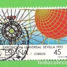 Francobolli: EDIFIL 2940. EXPOSICIÓN UNIVERSAL DE SEVILLA. EXPO'92. (1988).. Lote 101109703