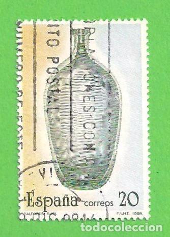EDIFIL 2946. ARTESANÍA ESPAÑOLA - VIDRIO. (1988). (Sellos - España - Juan Carlos I - Desde 1.986 a 1.999 - Usados)