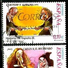 Sellos: ESPAÑA 2002- EDI 3914-16 (SELLOS-HISTORIA DE ESPAÑA) USADOS. Lote 101154410