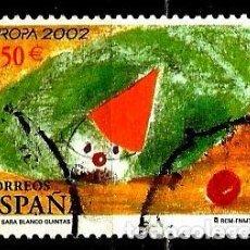 Sellos: ESPAÑA 2002- EDI 3896 (SERIE-EUROPA) USADOS. Lote 101157895
