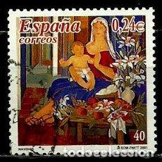 Sellos: ESPAÑA 2001- EDI 3835 (SELLO-NAVIDAD) USADOS. Lote 101162363