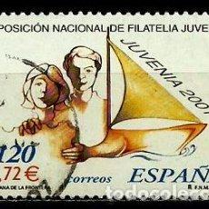 Sellos: ESPAÑA 2001- EDI 3781(SERIE-JUVENIA) USADOS. Lote 101162495