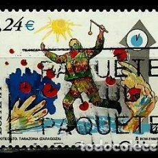 Sellos: ESPAÑA 2001- EDI 3806 (SELLO-CIPOTEGATO) USADOS. Lote 101162932