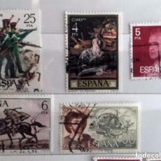 Sellos: ESPAÑA 1976, 5 SELLOS USADOS DIFERENTES . Lote 101198259