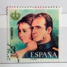 Sellos: ESPAÑA 1975 SELLO USADO REYES DE ESPAÑA D. JUAN CARLOS Y Dª SOFIA . Lote 101198675