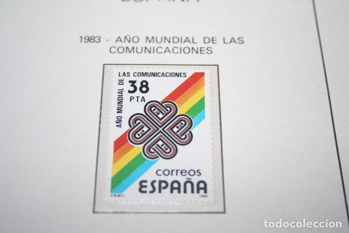 AÑO MUNDIAL DE LAS COMUNICACIONES *** SELLO AÑO 1983 *** ESPAÑA *** NUEVO (Sellos - España - Juan Carlos I - Desde 1.975 a 1.985 - Nuevos)