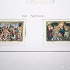 Sellos: NAVIDAD *** 2 SELLOS AÑO 1982 *** ESPAÑA *** NUEVOS . Lote 101217315