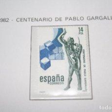 Sellos: CENTENARIO DE PABLO GARGALLO *** SELLO AÑO 1982 *** ESPAÑA *** NUEVO . Lote 101217559