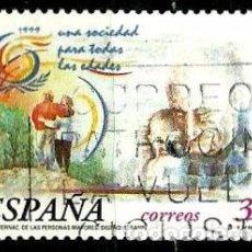 Sellos: ESPAÑA 1999- EDI 3660 (SERIE-MAYORES) USADOS. Lote 101232716