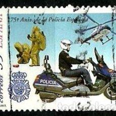 Sellos: ESPAÑA 1999- EDI 3623 (SERIE: POLICIA) USADOS. Lote 101233006
