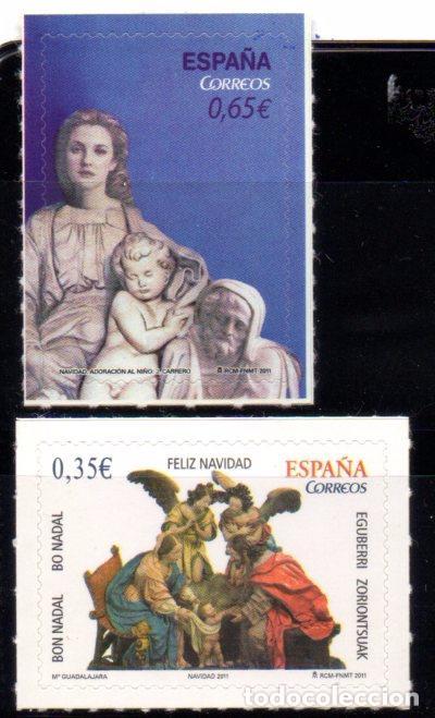 ESPAÑA, SELLOS DEL AÑO 2011.- EN NUEVOS. (Sellos - España - Juan Carlos I - Desde 2.000 - Nuevos)