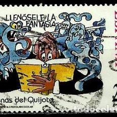 Sellos: ESPAÑA 1998- EDI 3561 (SELLO-D. QUIJOTE) USADOS. Lote 101317042