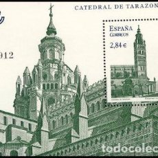 Sellos: ESPAÑA 2011 EDIFIL 4679 SELLO ** HB CATEDRAL DE TARAZONA ZARAGOZA SPAIN STAMPS TIMBRE ESPAGNE BRIEFM. Lote 101378107