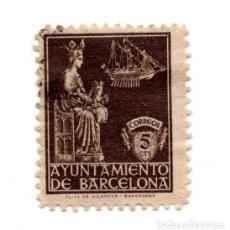 Sellos: AYUNTAMIENTO DE BARCELONA 5 CTS . Lote 101629875