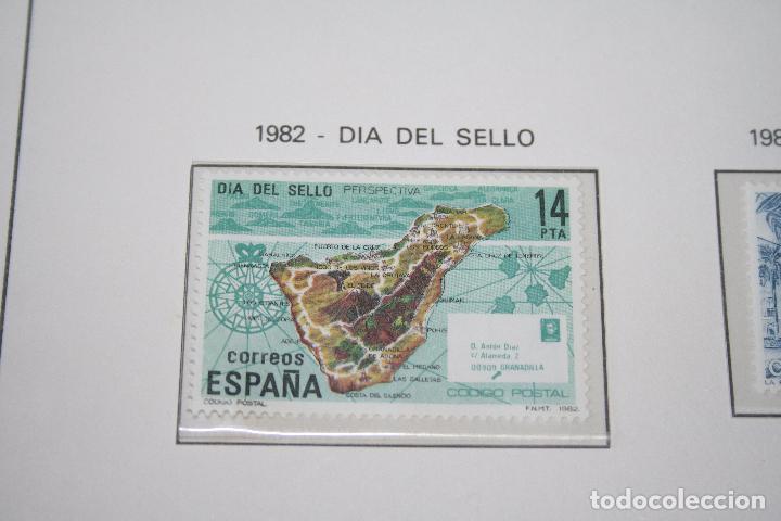 DÍA DEL SELLO *** SELLO AÑO 1982 *** ESPAÑA *** NUEVO (Sellos - España - Juan Carlos I - Desde 1.975 a 1.985 - Nuevos)