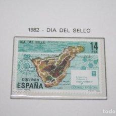 Sellos: DÍA DEL SELLO *** SELLO AÑO 1982 *** ESPAÑA *** NUEVO . Lote 101666179